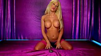 Image: Horny Blonde Lolly telephone sex in pink lingerie