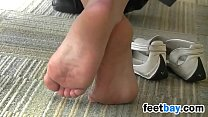 Candid Of This Girls Beautiful Soles