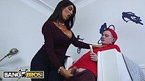BANGBROS - Big Tits Stepmom Ava Koxxx Puts Sam In His Muthafuckin' Place