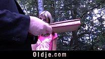 Oldman with gross dick penetrates young girl's arse Vorschaubild