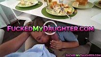 Teen Sally and mom Rachell enjoys a threesome fuck