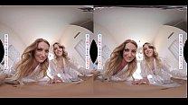 Naughty America 2 Chicks Same Time VR with Kenna James & Veronica Weston