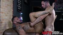 NASTYDADDY Antonio Miracle And Bairon Cum After Raw Fuck