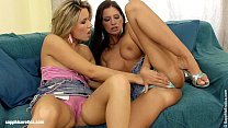 Climaxing Duo Luka and Cherry lesbian hot lovemaking by Sapphic Erotica
