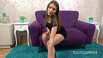 Sybil Masturbates After Stripping Out Of Her Se...