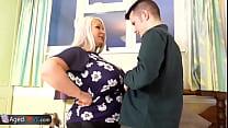 Young boy with big dick reward fuck with Mature Vorschaubild