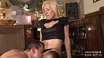 14528 Naughty french mature hard sodomized in a bar w cum 2 mouth preview