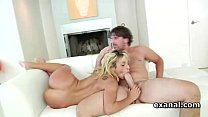 Anal slut Carmen Caliente fucks monster pecker