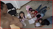 BANGBROS - MILF Nadia Styles Teaches Anatomy Class Using Castro Supreme