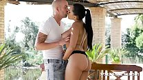 Private.com Huge tits latina fucked on the Terrace Image