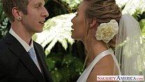 Sexy blonde bride Nicole Aniston fucking Preview