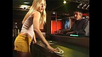 Waitress brutalized by two bad guys in a bar!