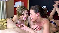 Hot Girls Long Teasing Blowjobs