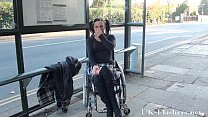 Paraprincess public nudity and handicapped pornstar flashing Preview