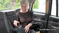 Blonde In See T hrough Shirt In Fake Taxi  Fake Taxi