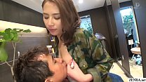 JAV hair salon audacious blowjob Ian Hanasaki S...