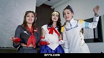 15076 BFFS - Hot Cosplay Sluts Fucked preview