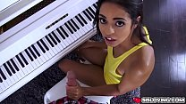 Tyler coaxed Vienna Black for a blowjob