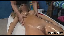 Hot eighteen year old cutie gets screwed hard by her massage therapist