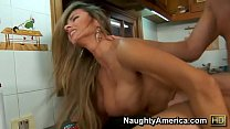Sexy Colombian Hottie Fucks Her Neighbor in Her Kitchen