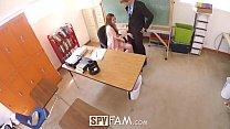 SpyFam Teacher stepdaughter Nina Skye seduces stepdad principal thumbnail