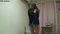 Naked Japanese Madoka wears a Miniskirt School Uniform pornhub video