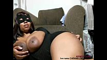 Download video bokep Old black lady play her big size boobs and pussy 3gp terbaru