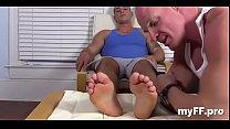 Extraordinary foot fetish homo porn