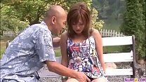Top rated outdoor Asian porn along superb Aika