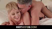 Milf Ryan Keely Gets Rewarded With A New Man To Fuck By Her Husband
