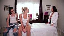 Big tit lover fake patients! - Mia Malkova, Georgia Jones, Angela White preview image