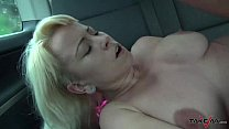 10462 Cheating busty wife fucks a stranger in traffic & Mea Melone record it preview