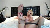 CamSoda - Nikki Benz Big Tits Pink Dildo Masturbation pornhub video