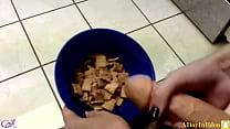 Futanari Fantasies : Cumming On My Cereal : A S...