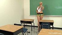 Teacher Lexi gets off with a Hitachi