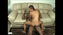 Chocolate babe Honey Bee likes being nailed with hard pole