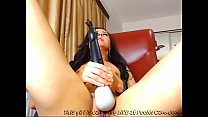 Cute Hottie Playing With Her New Toy...