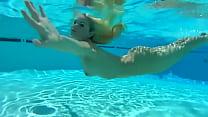 Liz Ashley Gets Naked At the Pool & Spa