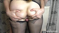 TEEN BIG ASS IN PANTYHOSE PUSSYJOB - FUCK PUSSY