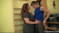 BBW fucks her fitness instructor pornhub video