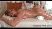 Blonde Fucked passionate masseur video