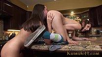 Kumalott - Fucking my Lesbian Bestie in my Parents' Kitchen