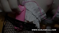 office to Kigurumi Maid Self-femdom缩略图