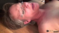 Rough Anal-sex and Squirting for this cougar mom صورة