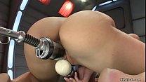 Big ass anal queen fucking machine