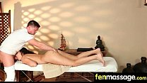 Teen massage gives stud happy ending 12