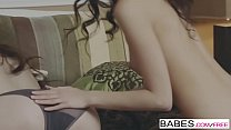 Babes - Lick My Lips starring Jenna Ross and Belle Knox clip صورة