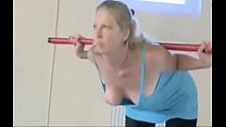 Fitness Freaks Oops Tit Slip from www.unluckylady.com tumblr xxx video
