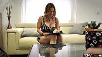 RawAttack - Big booty Krissy Lynn is punished by a monster cock, interview, big boobs Vorschaubild