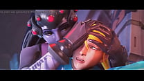 Widowmaker Takes Samus From Behind